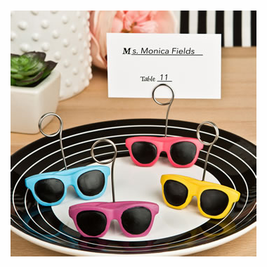 Sunglasses Place Card Holders