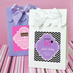 Sweet 16 Goodie Bags Candy Boxes - Set of 12