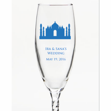 Champagne Glass Return Gifts for Guests