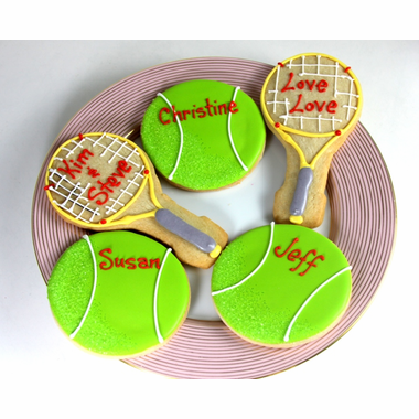 Tennis Cookies Favors