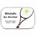 Tennis Racket Mint Tin