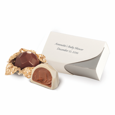 Truffle Favors - Personalized Box