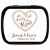 Tying the Knot Theme Mint Tins