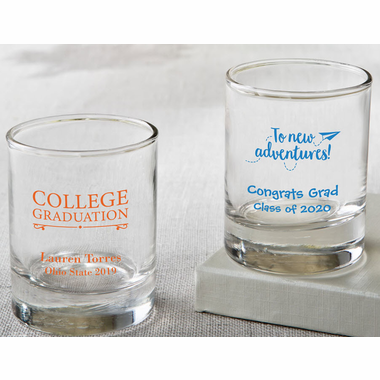 College Grad Custom Shot Glass