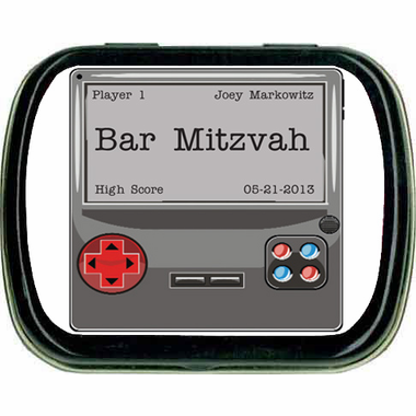 Video Game Theme Party Favors Mint Tins