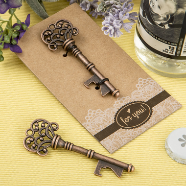 Vintage Key Bottle Opener Favors