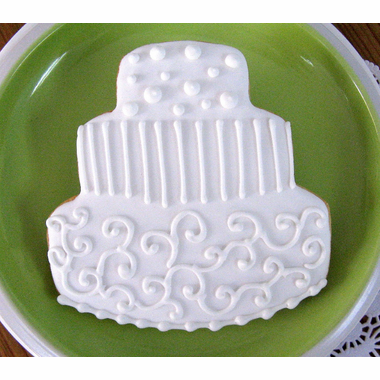 Wedding Cookies with Your Colors