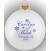Wedding Ornament Favors Glass Ball