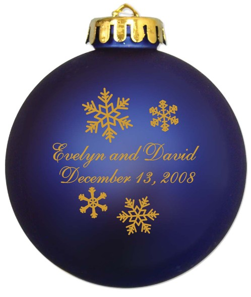 wedding ornaments glass ball  personalized christmas ornaments with