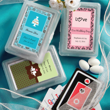 Wedding Playing Cards  - Customization on Label Only