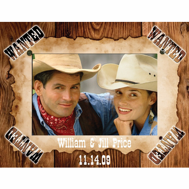 Western Picture Frame Favors
