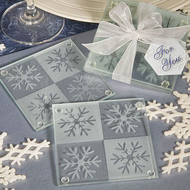 Winter Baby Shower Coasters