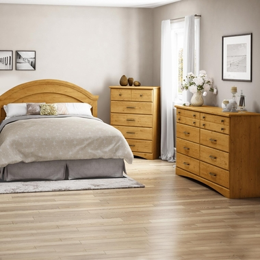 4 Piece Bedroom Set Little Treasures Twin Mates Bed Headboard 5 Drawer Chest And Nightstand