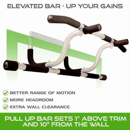 New Elevated Doorway Pull Up Bar