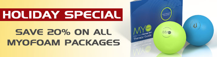 Save 20% on Myofoam Trigger Point Therapy Massage Balls