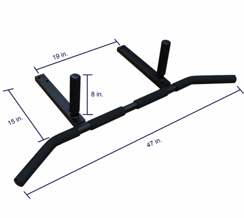 Joist Mount Pull Up Bar With 3 Grip Positions 19