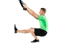 Suspension Trainer Assisted Pistol Squats