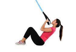 Suspension Trainer Crunch and Curl