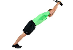 Suspension Trainer Double Arm Tricep Extensions