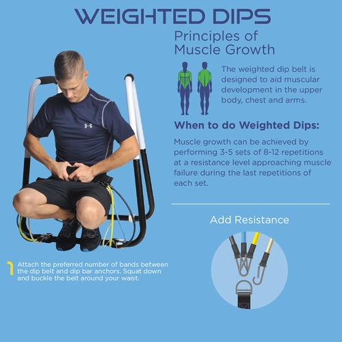 Home Gym Dip Station, Pull Up Bar And Workout Accessories