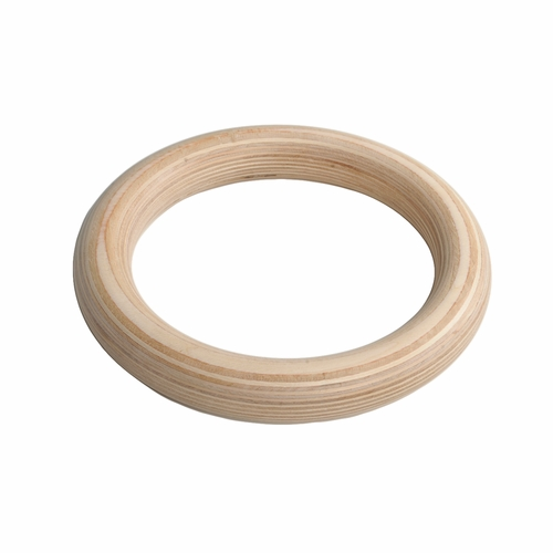 New Wood Gymnastic Rings With Quick Adjust Straps And Buckles
