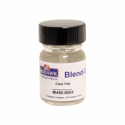 Clear Flat (Matte) Touch Up Urethane Finish - 1/2 Ounce