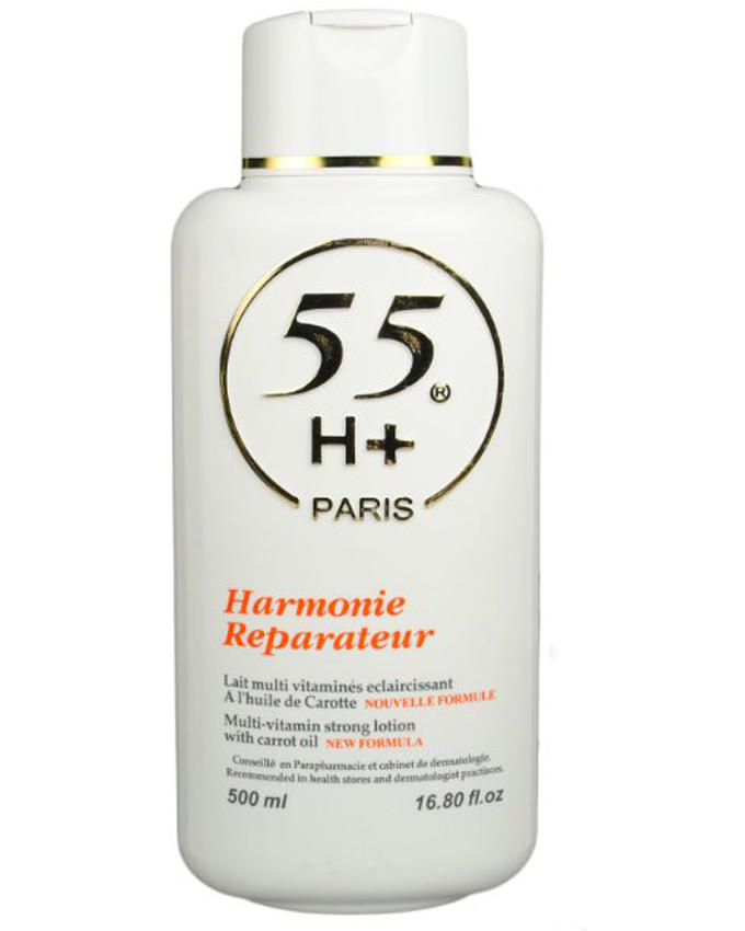 55 Reparateur Multi Vitamin Strong Lotion with Carrot Oil 16.8
