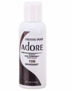 Adore Semi-Permanent Hair Color 106 MAHOGANY 4 oz