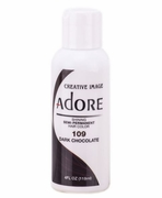 Adore Semi-Permanent Hair Color 109 DARK CHOCOLATE 4 oz