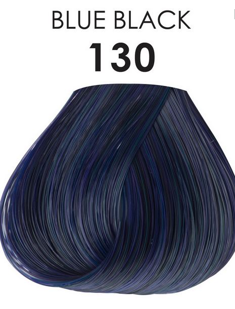 Adore Semi Permanent Hair Color 130 BLUE BLACK 4 oz