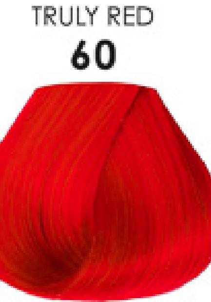Adore Semi-Permanent Hair Color 60 TRULY RED 4 oz