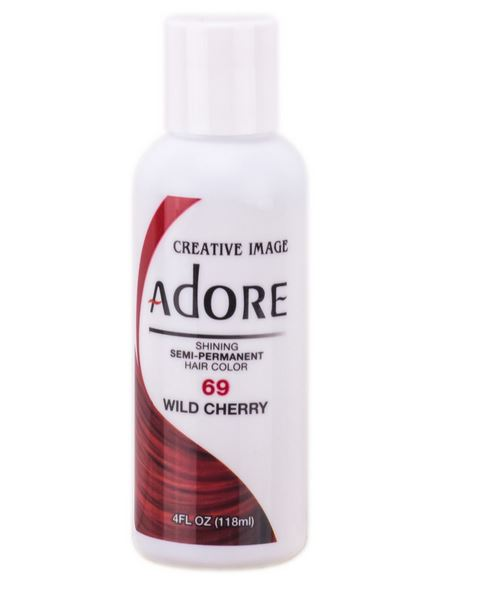 Adore Semi-Permanent Hair Color 69 WILD CHERRY 4 oz