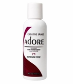 Adore Semi-Permanent Hair Color 71 INTENSE RED 4 oz