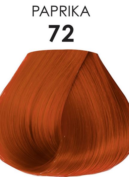 Adore Semi-Permanent Hair Color 72 PAPRIKA 4 oz