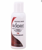Adore Semi-Permanent Hair Color 76 COPPER BROWN 4 oz