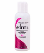 Adore Semi-Permanent Hair Color 82 PINK ROSE 4 oz