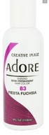 Adore Semi-Permanent Hair Color 83 Fiesta Fuchsia 4 oz