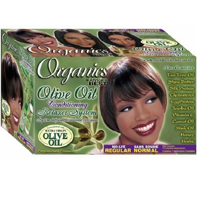 Africa Best ORGANICS No-Lye Conditioning Relaxer Kit