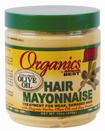 Africa's Best Organics Hair Mayonnaise with Olive Oil 15oz