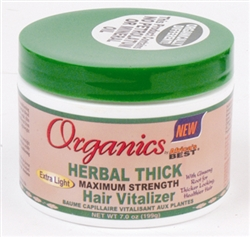 Africa's Best Organics Herbal Thick Maximum Strength Hair Vitalizer 7oz