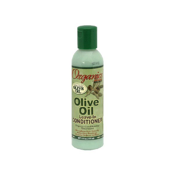Africa's Best Organics Olive Oil Extra Virgin Conditioner Leave-In 6 oz.