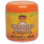 African Pride Shea Butter Miracle Buttery Creme 6 oz