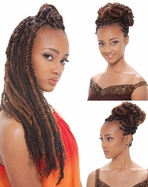 Afro Marley Braid (kanekalon) by Janet Collection