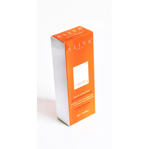 Aliya Carrot Intense Whitening Cream BY MAKARI 1.7 oz