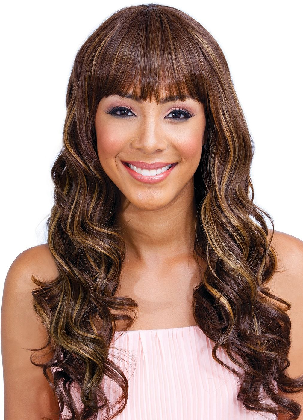 Bobbi Boss 100% Human Hair Blend Wig MB500 VALENTINA