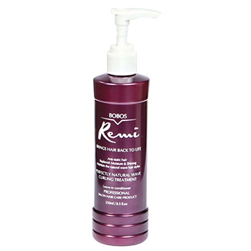 Bobos Remi Natural Wave Curling Treatment Leave-In Conditioner 8.5 oz