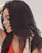 Janet Collection Brazilian Bombshell Natural Bohemian Bundle Hair