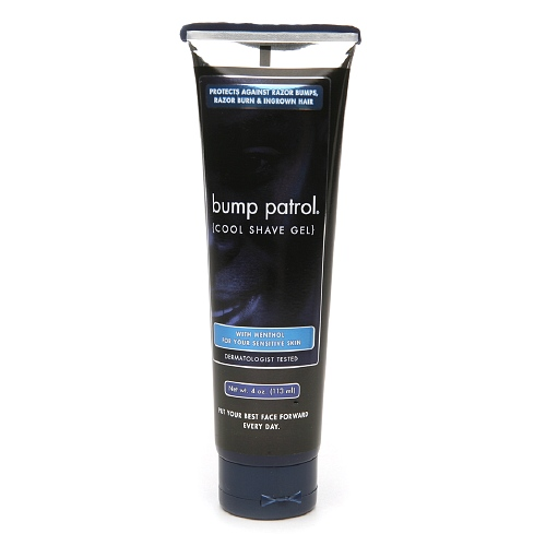 bump patrol Cool Shave Gel for Sensitive Skin, Menthol 4 oz (113 g)
