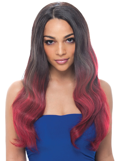 Janet Collection Brazilian Bundle Hair Natural Body Lace Wig
