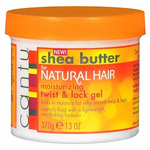Cantu Shea Butter Moisturizing Twist And Lock Hair Gel 13 oz